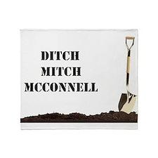 Ditch Mitch Throw Blanket