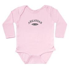 Arkansas Disc Golf Long Sleeve Infant Bodysuit