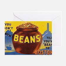 Boston Baked Beans Greeting Card
