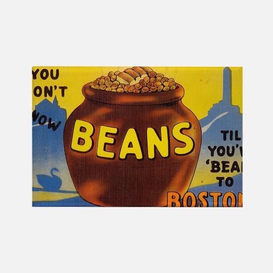 Boston Baked Beans Rectangle Magnet