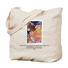 Isabella D C, Rapid City, Tote Bag