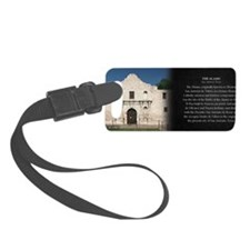 The Alamo Historical Mug Luggage Tag
