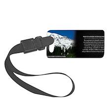 Mount Rainier National Park Hist Luggage Tag