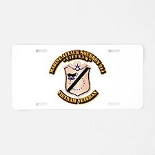 VMA-214 Aluminum License Plate