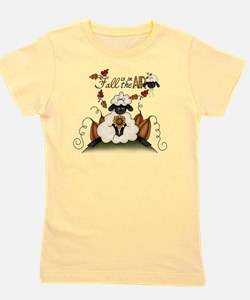 Autumn Lamb Girl's Tee