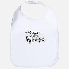 Bear is my Valentine Bib