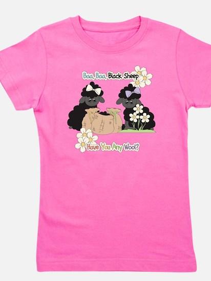 Baa Baa Black Sheep  Girl's Tee
