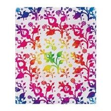 Floral mix Throw Blanket