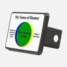 Going To Hell Rectangular Hitch Cover