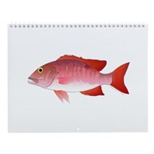 Gulf Of Mexico Fishing 1 Wall Calendar