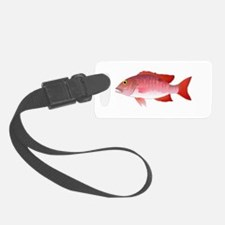 Red Snapper c Luggage Tag