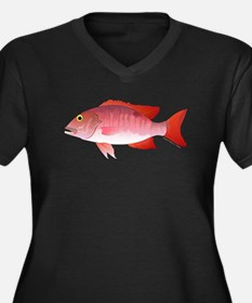 Red Snapper c Plus Size T-Shirt