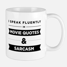Movie Quotes And Sarcasm Small Small Mug