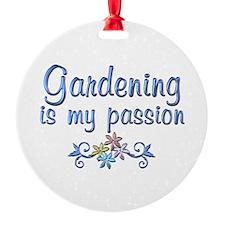 Gardening Passion Ornament