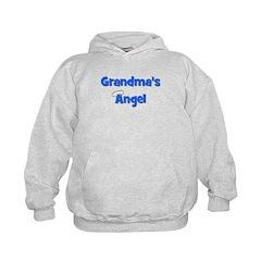 Grandma's Angel - Blue Hoodie