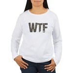 WTF Women's Long Sleeve T-Shirt