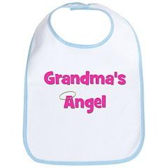 Grandma's Angel - Pink Bib
