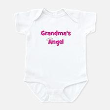 Grandma's Angel - Pink Infant Bodysuit