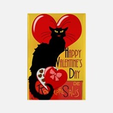 Le Chat Noir Valentine Magnets
