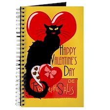 Le Chat Noir Valentine Journal
