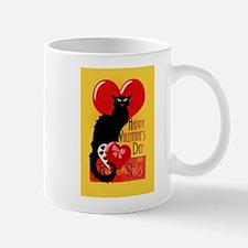 Le Chat Noir Valentine Mugs