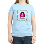 Mom Penguin Women's Light T-Shirt