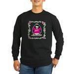 Mom Penguin Long Sleeve Dark T-Shirt