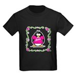 Mom Penguin Kids Dark T-Shirt