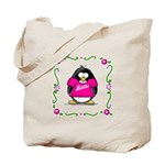 Mom Penguin Tote Bag