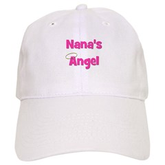 Nana's Angel - Pink Baseball Cap