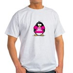 Hot Momma Penguin Light T-Shirt