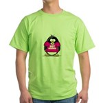 Hot Momma Penguin Green T-Shirt