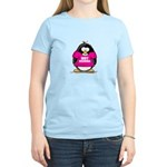 Hot Momma Penguin Women's Light T-Shirt