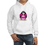 Hot Momma Penguin Hooded Sweatshirt