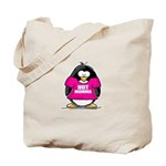 Hot Momma Penguin Tote Bag
