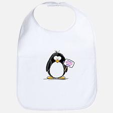 World's Greatest Mom Penguin Bib
