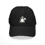 World's Greatest Mom Penguin Black Cap
