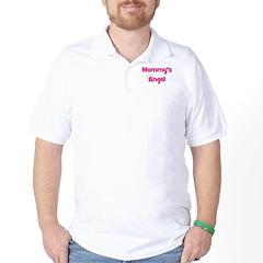 Mommy's Angel - Pink Golf Shirt