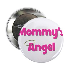 Mommy's Angel - Pink Button