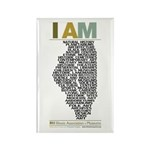 I AM Magnet (100 Pack)