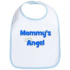 Mommy's Angel - Blue Bib