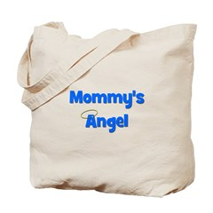 Mommy's Angel - Blue Tote Bag
