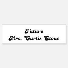 Future Mrs. Curtis Stone Bumper Bumper Bumper Sticker