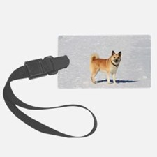 Icelandic Sheepdog 043 Luggage Tag