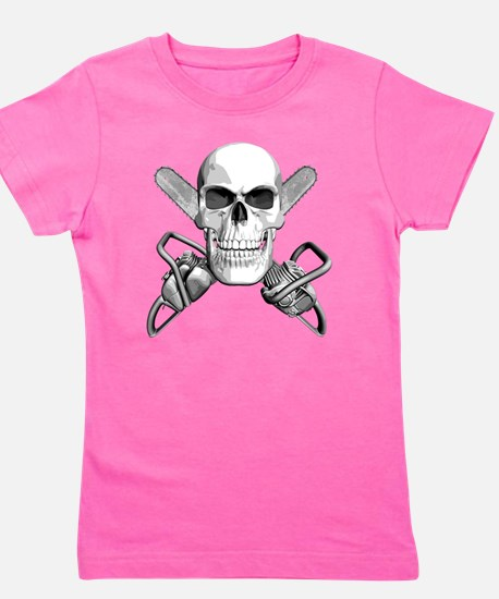 skull_chainsaws.png Girl's Tee