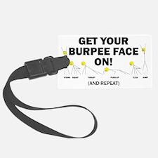 Burpee Face Luggage Tag