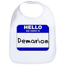 hello my name is demarion  Bib