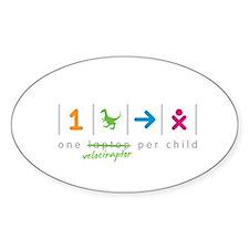 onevelociraptorperchild Decal