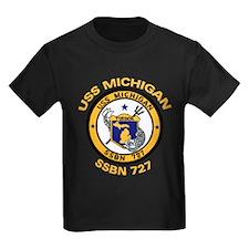 USS MICHIGAN SSBN 727 T