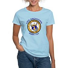 USS MICHIGAN SSBN 727 T-Shirt